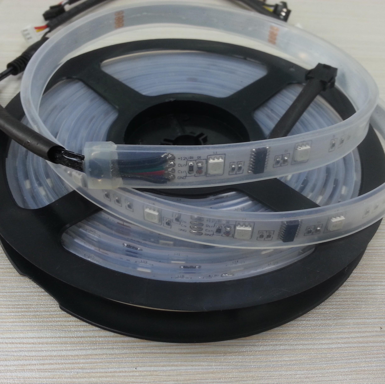 5M 5050 IP67 Intelligent 6803 IC Digital RGB LED Strip Light