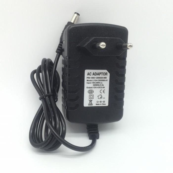 DC 12V 2A 24W Transformer AC to DC Power Adapter