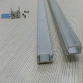 1 Meter Length Aluminum Channel LED Cabinet Light Bar Lights Fixtures
