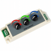 3A LED RGB Dimmer DC12-24V LED Dimmer Controller