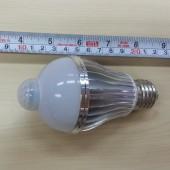 5W 7W E27 LED Bulb PIR Motion Detection Sensor LED Lamp