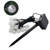 4.8M 20LEDs Lighting Crystal Ball Waterproof Garden Solar LED String