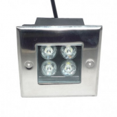 4W 360LM LED Square Underground Light Yard Buried Lamp Outdoor Light