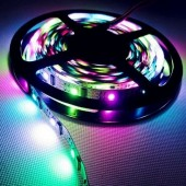 5 Meters 5V WS2801 IC RGB 5050 Intelligent LED Strip Light 160ICs