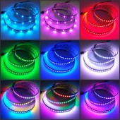 1M 5V WS2812b Programmable LED Strip 144 LEDs RGB Addressable Light
