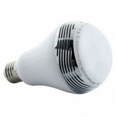 6W RGBW Bluetooth LED Smart Speaker Bulb Multi Color E27 Lamp