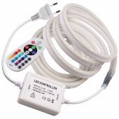 AC110V/220V RGB SMD 2835 120Leds Waterproof LED Neon Strip Light Flex