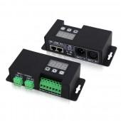 Bincolor BC-854 CV 4CH DMX512 Decoder 3-digital-display DMX Signal Driver Led Controller