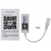 Mini LED Bluetooth RGBW RGB LED Controller DC 12V 24V