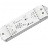 C4-350mA Skydance LED Controller DC 12-48V Push Dim 4CH*350mA CC