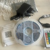 DC 12V Flexible RGB 5050 LED Light String Bluetooth Control Lighting Gear