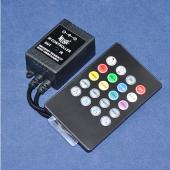 DC 12V RGB Music LED Controller IR Remote Control