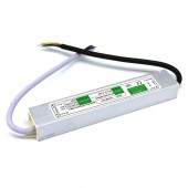 DC 12V 24V 20W Power Supply Adapter IP67 Waterproof Electronic LED Driver Transformer