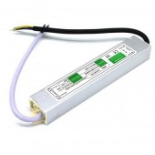 DC 12V 24V 24W IP67 Waterproof Power Supply AC to DC LED Driver Converter Transformer