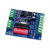 DMX-4CH-BAN-V3 5-24v Rgbw Easy Dmx 512 LED Decoder Controller 4CH