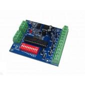DMX-8CH-BAN-V1 5-24v 8ch Easy 2Groups Dmx512 Led Dimmer Controller