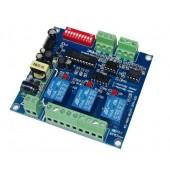 DMX-RELAY-3CH-220-BAN 3CH*5A Dmx512 Relay Dmx Controller