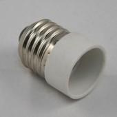 E27 to E14 LED Lamp Adapter Base Converter
