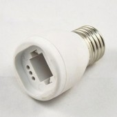 G24 to E27 LED Lamp Adapter Base Converter