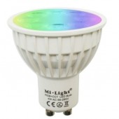 IOS Android Controlled 4W GU10 Mi.light FUT103 RGB+CCT LED Smart Bulb