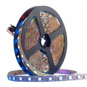 GS8208 WS2813 WS2812B RGB LED Strip 12V Dual-Signal Individually Addressable 5M