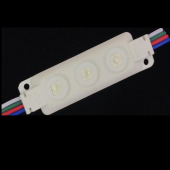 3 LEDs Injection RGB LED Module SMD 5050 IP65 Waterproof 12V 20pcs