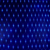 Net Shaped Blue Light For Party Decoration 2m*3m 200Leds