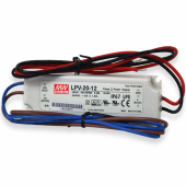 LPV-20 Series Mean Well 20W Single Output LED Power Supply