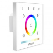 LTECH RF 2.4GHz Control E5S RGBWW Touch Panel 12-24VDC