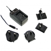 GE18 18W Mean Well Interchangeable Industrial Adaptor Power Supply