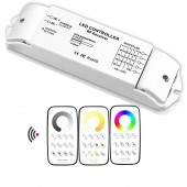 Bincolor Dimming Multi Zone Control Wireless Remote With Receiver Led Controller