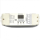 DMX512 12V 24V 4 Channels Constant Voltage Decoder Euchips Controller PX24500D