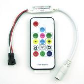 SP103E DC5V DC12V Mini RF Remote Controller for WS2811 WS2812b
