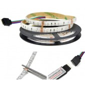 USB Power SMD 3528 RGB LED Tape Light Strip 5V 5 Meters 300 LEDs