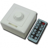 Wall Mounted LED Dimmer Controller With 12 Keys Remote