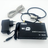 WF310 DC12V WiFi DMX Converter DMX512 Controller for Cellphone Ipad