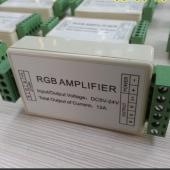 12A RGB Amplifier RGB LED Booster DC5V-24V