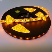 12V 16.4Ft 300 LEDs SMD 5050 Yellow Waterproof LED Strip Light