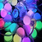 12V 50mm DMX512 RGB 5050SMD Waterproof LED Point Light