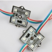 12V DC Addressable WS2801 RGB LED Pixel Module Light 4LEDs SMD 5050