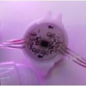 12V WS2811 IC 5050 RGB LED Pixel Point Light 30mm 3LEDs String
