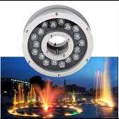 18W IP68 Waterproof Aluminum LED fountain Lamp Underwater Swimming Pool light