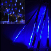 Blue LED Meteor Lights 8 Tubes 20cm Snow Lamp For Christmas