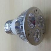 3W E27 Dimmable LED Spotlight White/Warm White Lamp