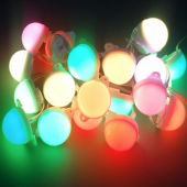 40mm 24V WS2811 UCS1903 RGB 5050 Waterproof LED Point Light