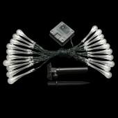 4.8M 20LEDs Raindrop Lamp Waterproof Fairy Solar Battery Light
