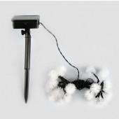 Waterproof 4.8M 20LEDs Solar Lamps Fairy Snowball Garland String Light