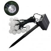 4.8M 20LEDs Lighting Crystal Ball Waterproof Garden Solar LED String