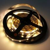 5 Meters 5630 Warm White Flexible LED Strip Light Non-Waterproof
