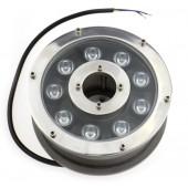 9W IP68 Waterproof LED Fountain Light Underwater Swimming Pool Pond Lamp
